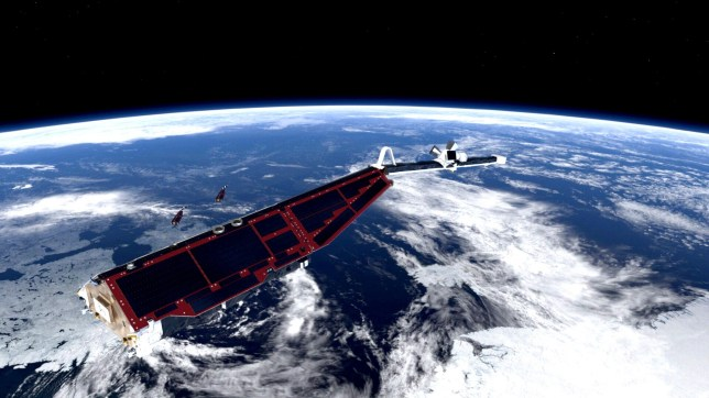 The European Space Agency's Swarm satellites study the Earth's magnetic field