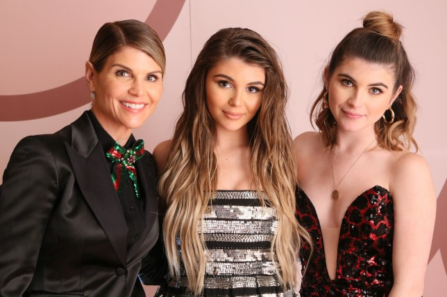 WEST HOLLYWOOD, CA - DECEMBER 14: (L-R) Lori Loughlin, Olivia Jade Giannulli and Isabella Rose Giannulli celebrate the Olivia Jade X Sephora Collection Palette Collaboration Launching Online at Sephora.com on December 14, 2018 in West Hollywood, California. (Photo by Gabriel Olsen/Getty Images for Sephora Collection)