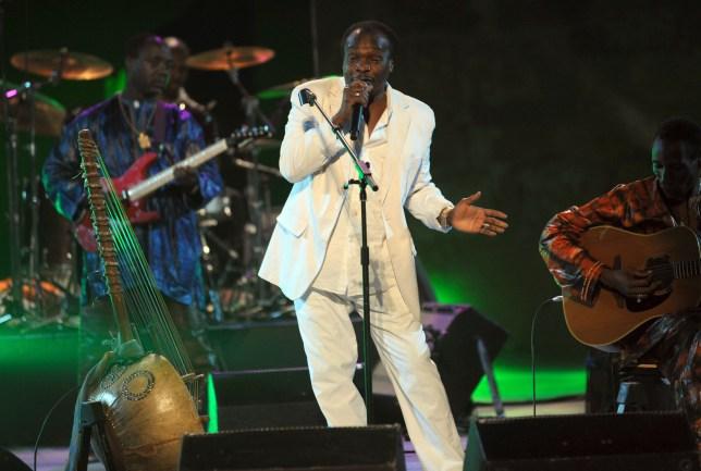 Guinea's singer Mory Kante