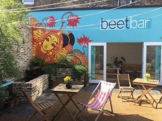 Photo: Beet Bar Get ready for a cruelty-free staycation in Margate at this new vegan hotel