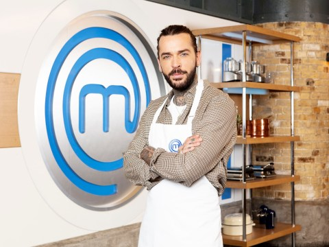 Celebrity MasterChef star Pete Wicks 'couldn't boil an egg' before entering competition