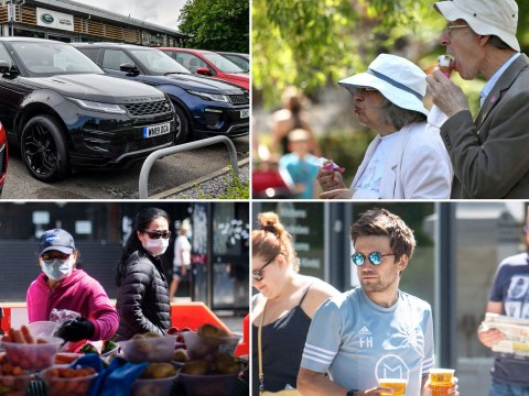 Market stalls, garden parties and car dealerships 'set to reopen next month'