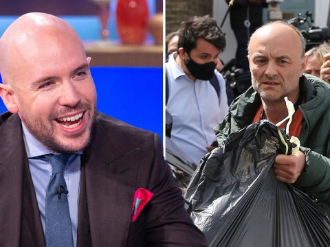 Tom Allen takes swipe at Dominic Cummings on Sunday Brunch: 'It's so nice to be out and about'