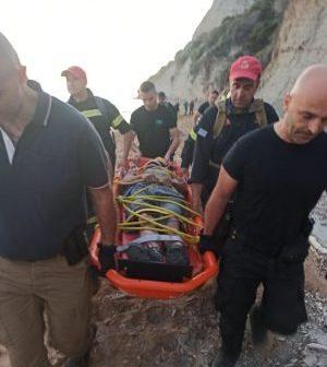 Dimitris Aspiotis fell from a cliff