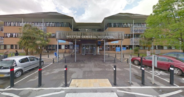Weston General Hospital in Somerset stopped accepting new patients at 8am Monday May 25 due to a 'high number' of people being treated for Covid-19