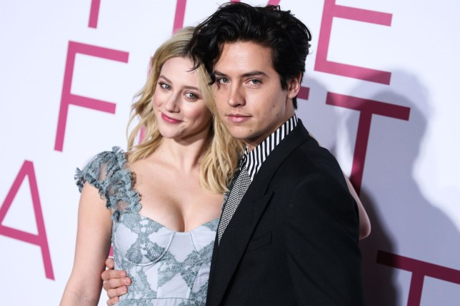 Cole Sprouse confirms he and Riverdale co-star Lili Reinhart split in March as he supports her new movie