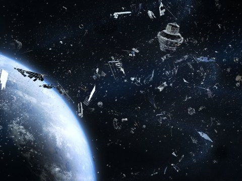 Planet Earth 'congestion charge' could fix space junk problem, study claims