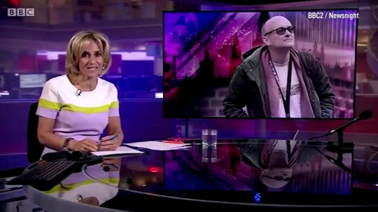 Emily maitlis opening on newsnight BBC
