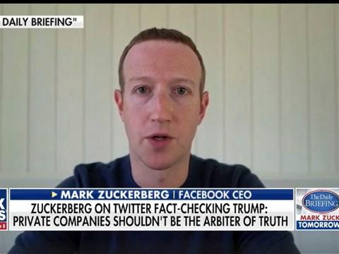 Facebook boss Mark Zuckerberg criticises Twitter for fact-checking Donald Trump