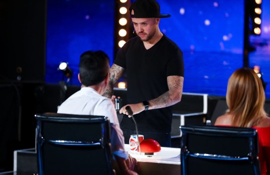 STRICTLY EMBARGOED, NO USE BEFORE 00.01am GMT SATURDAY 30th MAY 2020. Editorial use only. No book publishing. Mandatory Credit: Photo by Dymond/Thames/Syco/REX (10663068m) Damien O'Brien 'Britain's Got Talent' TV Show, Series 14, Episode 8, UK - 30 May 2020
