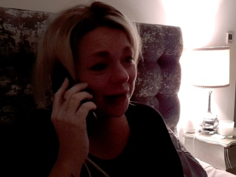 Pregnant Sheridan Smith breaks down in tears as family abandon her in Isolation Stories first look