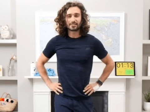 How to watch Joe Wicks' 10-minute workouts for seniors