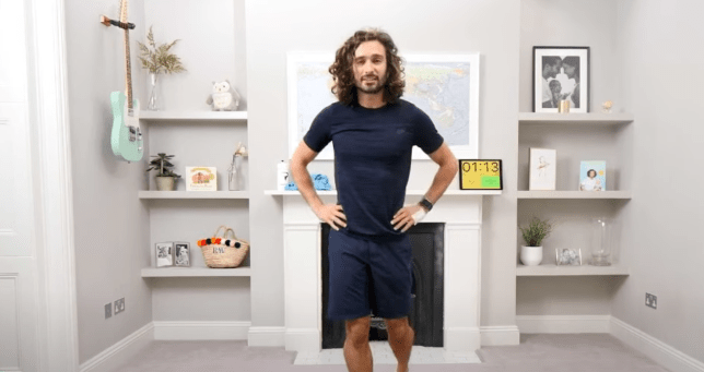 Joe Wicks PE class YouTube