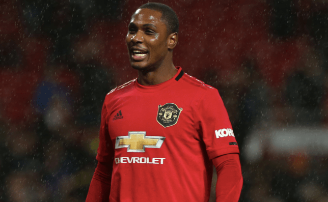 Odion Ighalo looks on after Manchester United's Premier League clash with Manchester City