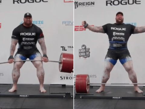 Game of Thrones star Hafthor Julius Bjornsson sets new deadlift world record