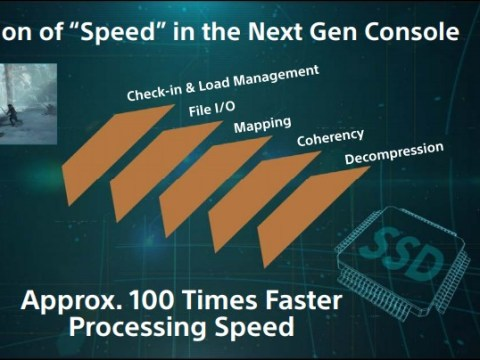 PS5 processing speed is 100 times faster than PS4 claims Sony