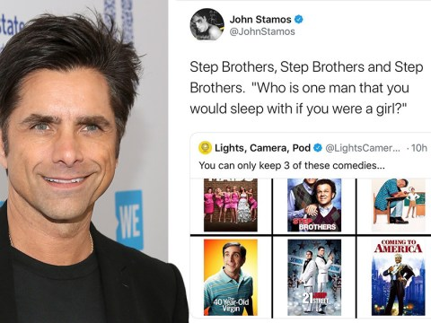 John Stamos gives epic shout-out to Step Brothers and did we just become best friends?!