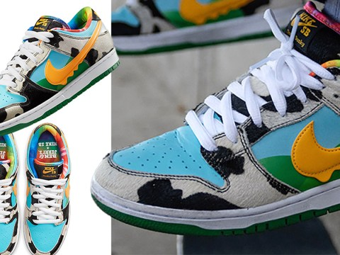 Where to buy the new Ben & Jerry's x Nike SB Chunky Dunky trainers