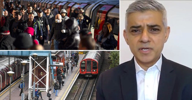 Sadiq Khan has announced Tube and bus fares will rise as a result of a government bailout