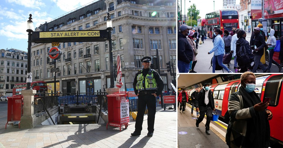 Images of London during the coronavirus lockdown