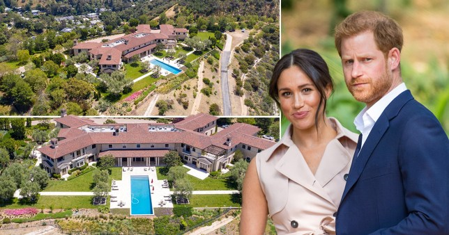 The £14,500,000 Beverly Hills mansion where Harry and Meghan are ...