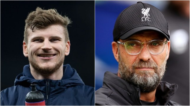 Liverpool are being strongly linked with a move for Germany striker Timo Werner