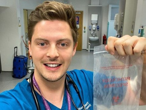 Love Island's Dr Alex George gets antibodies test to find out if he's been exposed to coronavirus on NHS frontline