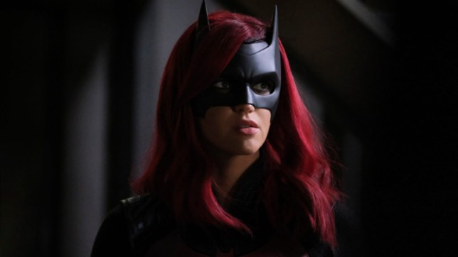 Ruby Rose pictured as Kate Kane's Batwoman in The CW series