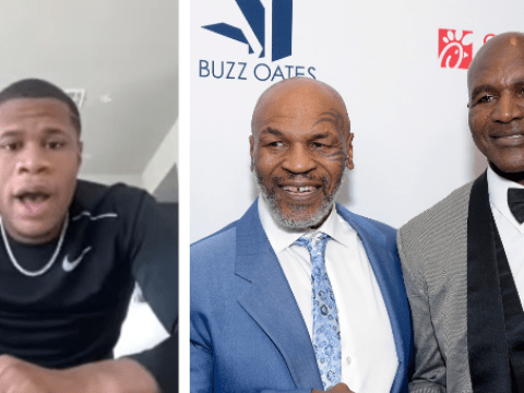 Devin Haney sends message to Mike Tyson and Evander Holyfield over potential rematch