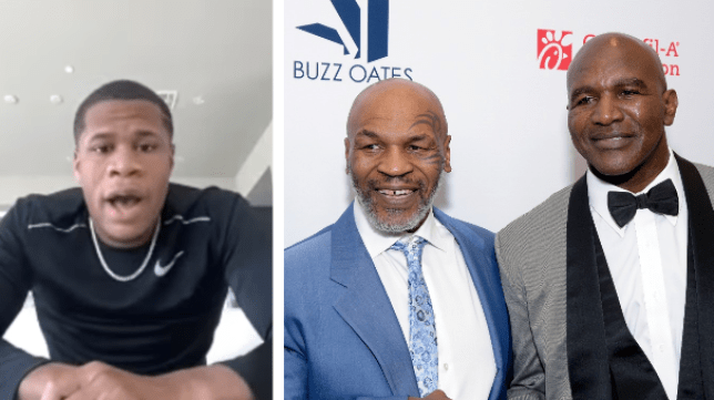 Devin Haney is excited by the prospect of Mike Tyson taking on Evander Holyfield
