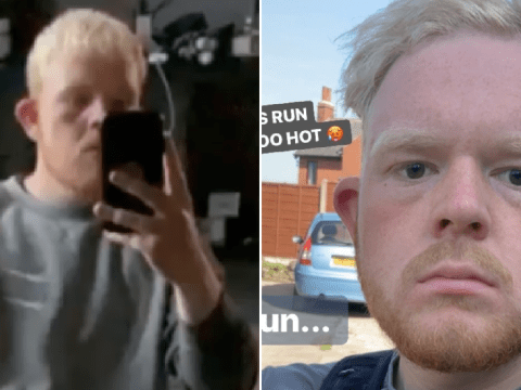 Coronation Street star Colson Smith poses as convict amid weight loss and is unrecognisable