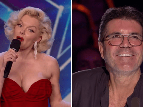 Britain's Got Talent's Simon Cowell left stunned as Marilyn Monroe lookalike talks dating woes in unseen clip