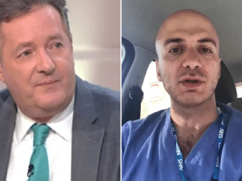 Piers Morgan believes coronavirus crisis has 'made him better person' as Syrian NHS cleaner declares he's 'proud of him'
