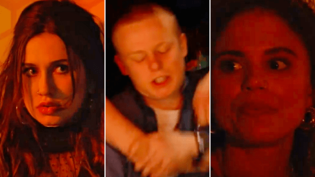 Dotty, Bobby and Chantelle in EastEnders