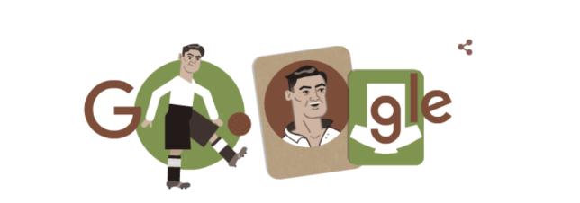 frank soo as the google doodle