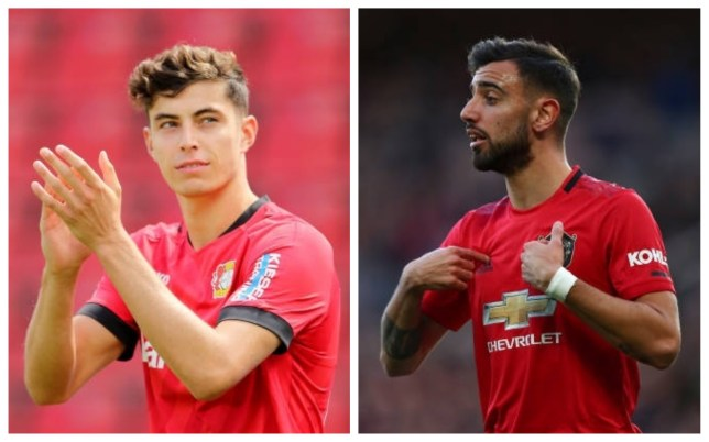 Kai Havertz could be Liverpool's own Bruno Fernandes, says Jan ...