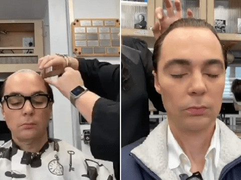 The Big Bang Theory's Jim Parsons shows dramatic transformation as he morphs into Hollywood's Henry Willson