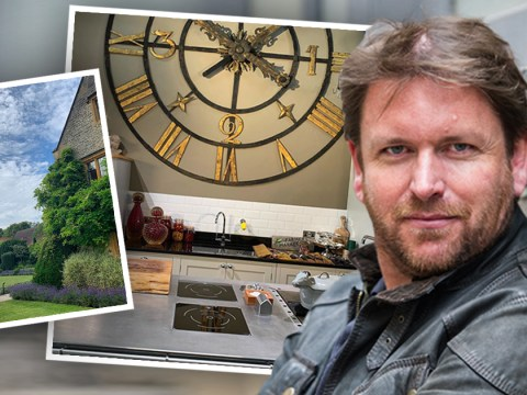 Inside chef James Martin's sprawling country home where he's cooking live on This Morning