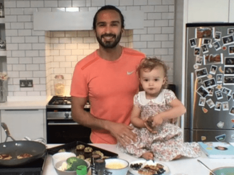Joe Wicks upstaged by adorable daughter Indie as she steals This Morning cooking segment