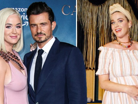 Pregnant Katy Perry locks herself in her car so she can cry away from fiance Orlando Bloom in lockdown