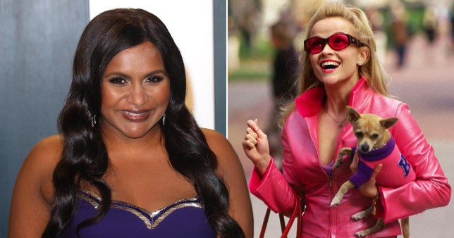 Mindy Kaling and Elle Woods