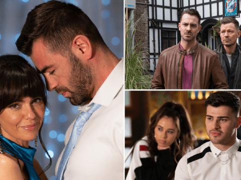 Hollyoaks spoilers: 24 new images reveal shock arrival, wedding drama and Darren's struggle