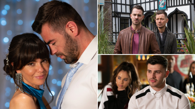 Mercedes, Sylver, Darren, Kyle, Romeo and Cher in Hollyoaks