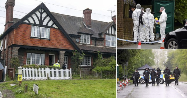 A man has been charged with murder after the death of an 88-year-old widower at an address on Bletchingley Road in Godstone, Surrey.