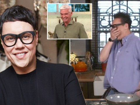 Gok Wan 'so embarrassed' as Phillip Schofield exposes his dream about him live on This Morning: 'I'll never forgive you'