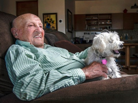 Oldest US coronavirus survivor, 108, says it was no worse for him than regular flu