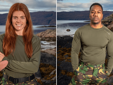 Celebrity SAS: Who Dares Wins fans are celebrating as Lauren and Locksmith both pass the course