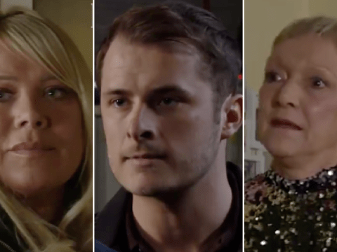 EastEnders spoilers: New trailer reveals shock violence, Sharon's dilemma and Jean's request