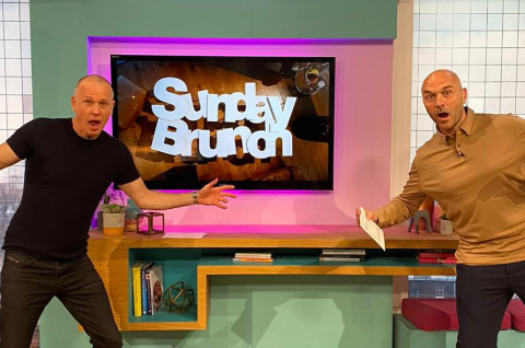 Sunday Brunch viewers delighted as live show returns to studio under social-distancing guidelines