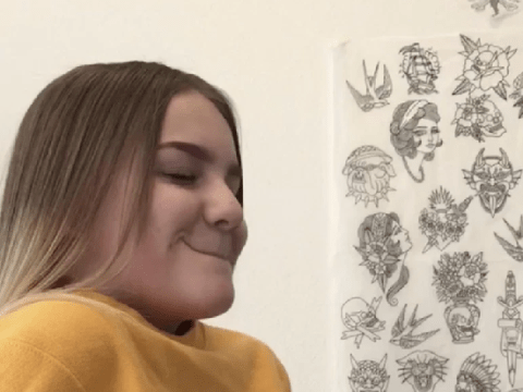 Mum defends decision to let 15-year-old daughter get tattoo in honour of her dad